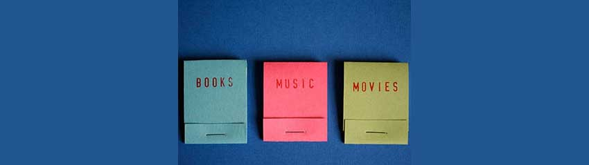 books, music and movies offers